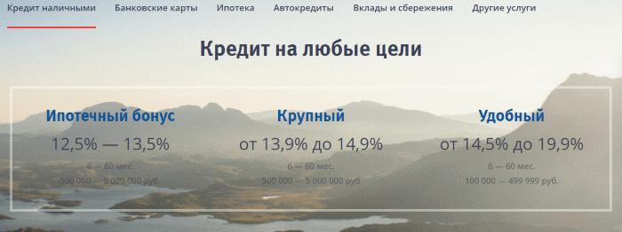 заявка в втб банк на потребительский кредит