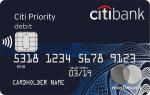 Citibank - Дебетовая карта